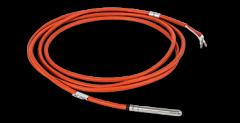 Sensor de temperatura del cable