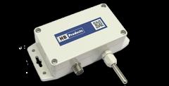 Sensor de temperatura con transmisor montado en la pared